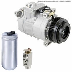 For Chevy And Gmc Full-size Pickup And Suv Ac Compressor W/ A/c Drier And Exp Tcp