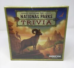 Trekking The National Parks Family Trivia Game Underdog Games Ages 10+ New