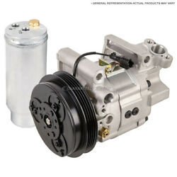 For Volkswagen Touareg 2011 2012 Ac Compressor And A/c Drier Tcp