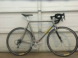 Litespeed Ultimate 58cm Titanium Road Bicycle Campagnolo Record 10s Made In Usa