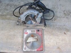 Porter Cable 6 Circular Saw Model 345 Heavy Duty Saw Boss - Used