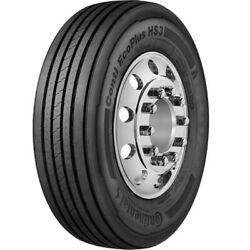4 Tires Continental Conti Ecoplus Hs3 295/60r22.5 J 18 Ply Dc Steer Commercial