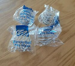 Blender Bottle Brand Wire Whisk Ball Replacement - Lot Of 4 - Sealed