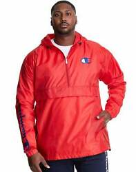 Champion Menand039s Athletics Big And Tall Packable Jacket