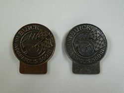 1981 Indianapolis 500 Bronze And Silver Pit Badge Bobby Unser Team Penske