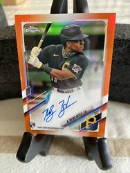 2021 Topps Chrome Auto Orange Refractor Keand039bryan Hayes D To 25
