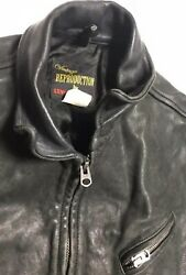 Levi's Vintage Closing Jacket Made In Italy Motorcycle Black Men's Talon Zippers
