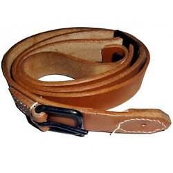 Japanese Wwii General Purpose Leather Rifle Sling Czech Vz 24 Rifle W271