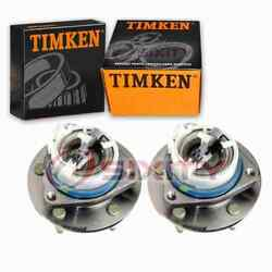 2 Pc Timken Front Wheel Bearing Hub Assembly For 2002-2013 Chevrolet Impala He