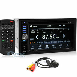 Boss Bvnv9384rc Double Din Bluetooth Navigation 6.2 Car Dvd In-dash Stereo