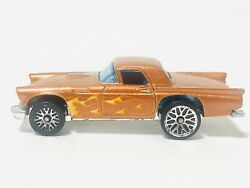 Hot Wheels Collectible 1977 T-bird Copper Flames W/lace Rims Rare Free Shipping
