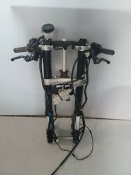 20-21 Yamaha Yzf R1 Yzfr1 Front End Forks Tubes Trees Handle Bars Controls Clean