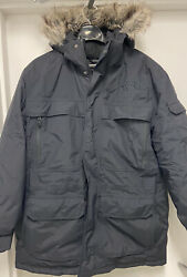 330 The Mens Mcmurdo Parka Iii 550 Down-fill Black Dryvent Hooded