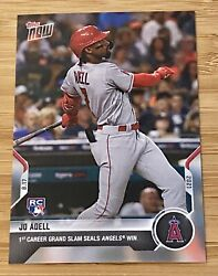 Rookie Jo Adell Angels 1st Career Grand Slam Hr In 9th Inning Secures Win Rc