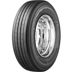 4 New Continental Conti Ecoplus Ht3 255/70r22.5 Load H 16 Ply Trailer Commercial