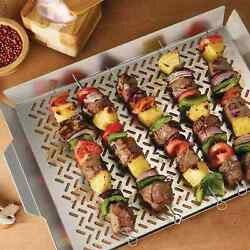 Tramontina 2 Piece Outdoor Roasting Grill Pan Set Free Shipping Fast Delivery