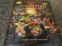Heroesand039 Feast The Official Dungeons And Dragons Cookbook Hardcover New Dandd