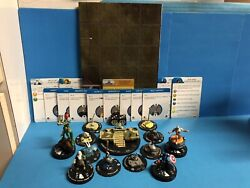 Heroclix Rare Fear Itself Complete Book Of The Skull W/8 Hammers Splitlip Map