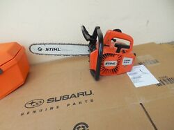 Vintage Stihl 015l Chainsaw With Good Bar Chain And Carry Casevideo