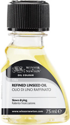Winsor And Newton Refined Linseed Oil 75ml 3221748 75ml,