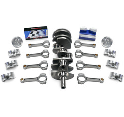 Ford Pour 460-520 Bal. Scat Stroker Kit Luxe Forgandeacute Plat Pist H-beam Tiges
