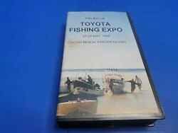 Toyota Fishing Expo 1998 - 15th Annual - Vhs - Free Postage