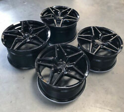 20'' Mrr M755 Camaro Flow Forge Wheels With Tires 20x10'' 20x11'' Chevy 5x120