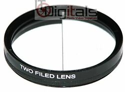 52mm Split Field Two Field Special Effects Lens Filter Two Depth Of View 52 Mm