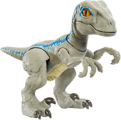 Jurassic World Primal Pal Blue With Spring-activated Action Sound Effects Plus