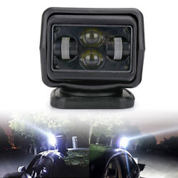 7 Led Search Light Rotating Remote Control Truck Car Driving Spot Lamp Ip65 60w
