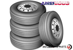 4 Americus Rs2000 285/75r24.5 144/141l G/14 Commercial All Position Steer Tires