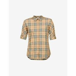 Blouse Shirt Tops Luka Vintage-checked Stretch-cotton