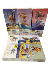 Hawk Classics Silly Surfers Plastic Model Kits Complete Set Of 5 New Sealed
