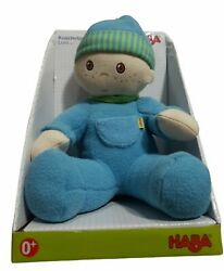 New Set Of Haba Snug-up Dolls Luis 8 First Boy Doll And Luisa 8 First Girl Doll