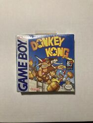 Donkey Kong Factory Sealed Nintendo Game Boy First Print Solid Shape