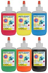 Patti-goop 6-pack Made For Creepy Bugs Toys And Rubbery Crawlers Patti Goop