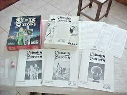 Chivalry And Sorcery Rpg Box Set Fantasy Games Unlimited 7701 1977 '83 2nd Edition