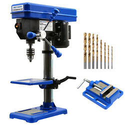Bilt Hard 10 Inch Bench Drill Press 12 Speed With Drill Vise Bits Csa Certified