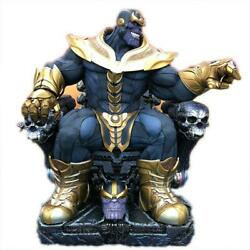Marvel Sideshow Thanos Limited To 3 500 Pieces Figure With Replacement Head