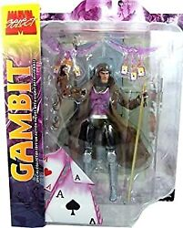 Secondhand Imported Goods Marvel Select Action Figure Gambit Longer Hair Variant