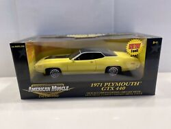 Ertl American Muscle Limited Edition 1971 Plymouth Gtx 440 118 Mib