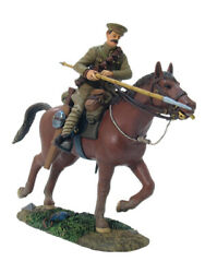 Britains 17668 Wwi Mons 1914 British 9th Lancer Cavalry Charging Set 1 54mm New