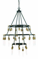 Savoy House 1-2903-35-51 Campbell 35-light Chandelier 43 W X 53h