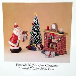 Eddie Walker Twas The Night Before Christmas Set 1999 Midwest Of Cannon Falls