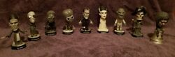 Sideshow Toys / Universal Studios Movie Monsters Little Big Heads Set Of 9