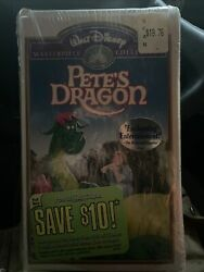 Petes Dragon Vhs 1994 Walt Disney Masterpiece Collection Factory Sealed