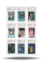 Show Your Slabs Graded Card Frame 9 slabs Mounts to Wall Hardware Included