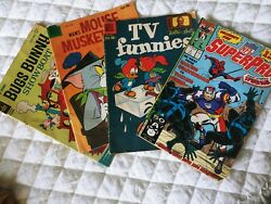 Old Comic Books Marvel And Dell