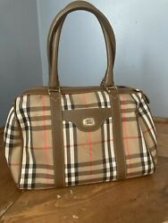 Authentic Burberry Bag Med Size Classic Pattern $250.00