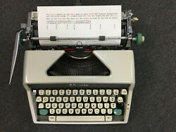 Olympia Sm7 Fully Refurbished Pica Typeface Stunning Factory Fresh Condition